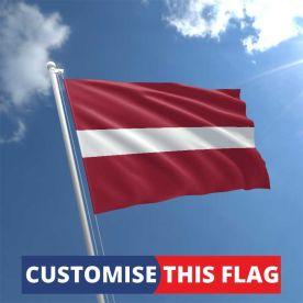 Custom Latvia Flag