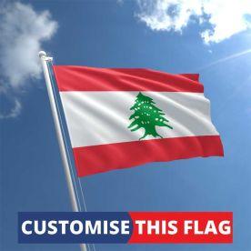Custom Lebanon Flag