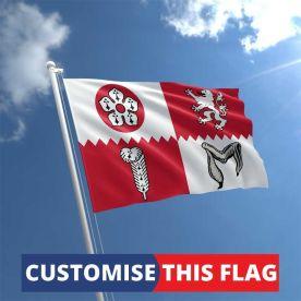 Custom Leicestershire Flag