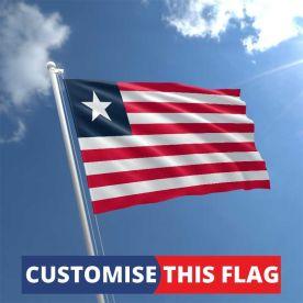 Custom Liberia Flag