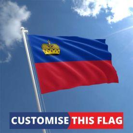 Custom Liechtenstein Flag