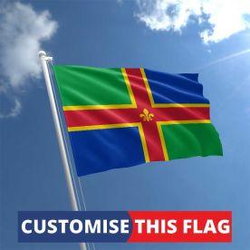 Custom Lincolnshire Flag