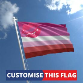 Custom Lipstick Lesbian Flag
