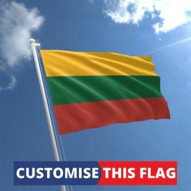 Custom Lithuania Flag