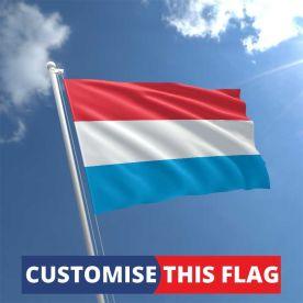 Custom Luxembourg Flag