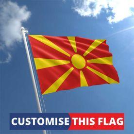 Custom Macedonia Flag