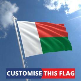 Custom Madagascar Flag