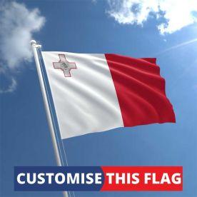 Custom Malta Flag