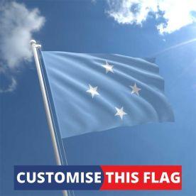 Custom Micronesia Flag
