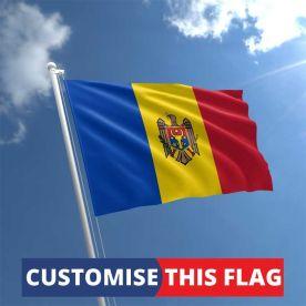 Custom Moldova Flag