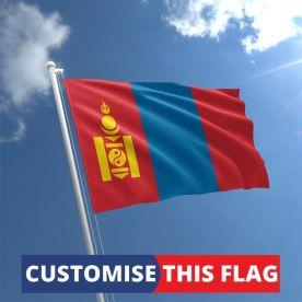Custom Mongolia Flag