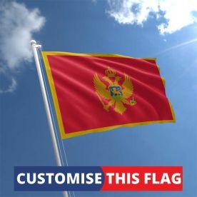 Custom Montenegro Flag