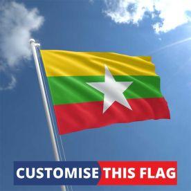 Custom Myanmar Flag