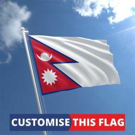 Custom Nepal Flag