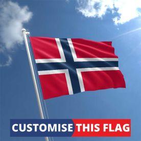 Custom Norway Flag