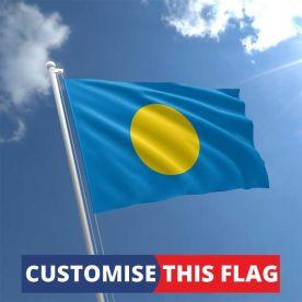 Custom Palau Flag