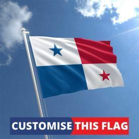Custom Panama Flag