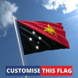 Custom Papua New Guinea Flag