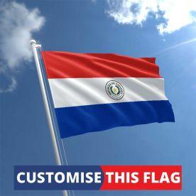 Custom Paraguay Flag