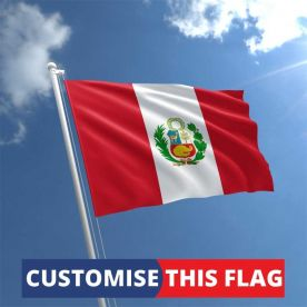 Custom Peru Flag