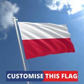 Custom Poland Flag