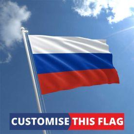 Custom Russia Flag