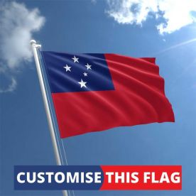 Custom Samoa Flag