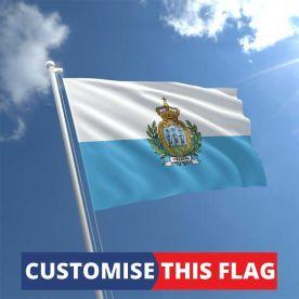 Custom San Marino Flag