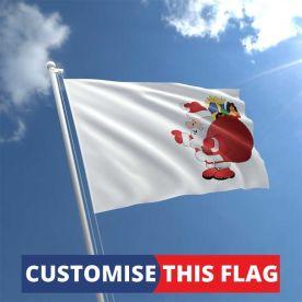 Custom Santa Flag