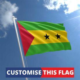 Custom Sao Tome & Principe Flag