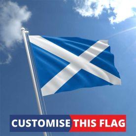 Custom Scotland Flag