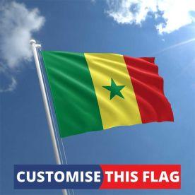 Custom Senegal Flag