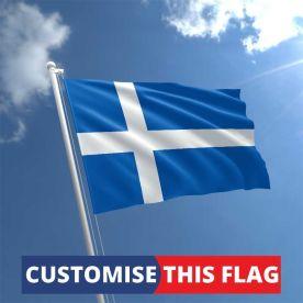 Custom Shetland Flag