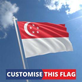 Custom Singapore Flag