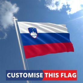 Custom Slovenia Flag