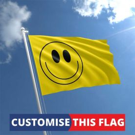 Custom Smiley Face Flag