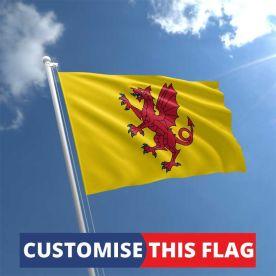 Custom Somerset Flag