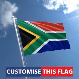 Custom South Africa Flag