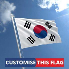 Custom South Korea Flag