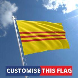 Custom South Vietnam Flag