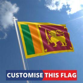 Custom Sri Lanka Flag