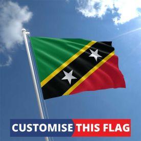 Custom St Kitts & Nevis Flag