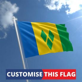 Custom St Vincent & the Grenadines Flag
