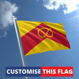 Custom Staffordshire Flag