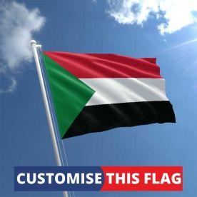 Custom Sudan Flag