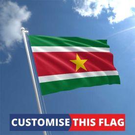Custom Suriname Flag