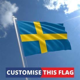 Custom Sweden Flag