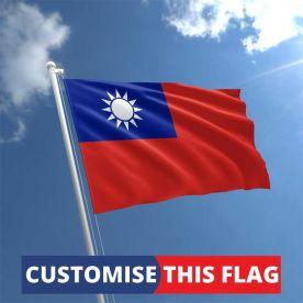 Custom Taiwan Flag