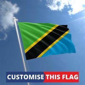 Custom Tanzania  Flag