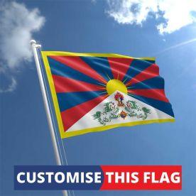 Custom Tibet Flag